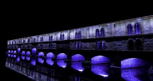 e Barrage Vauban de nuit