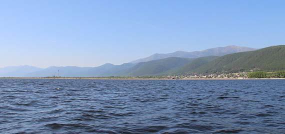 Une photo du Lac Baïkal