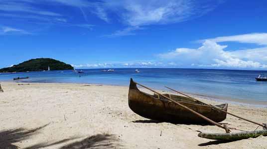 Photo d'une plage à Madagascar