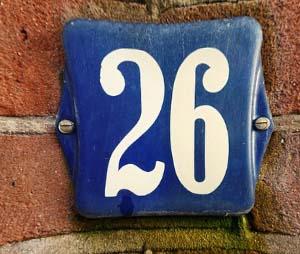 le chiffre 26