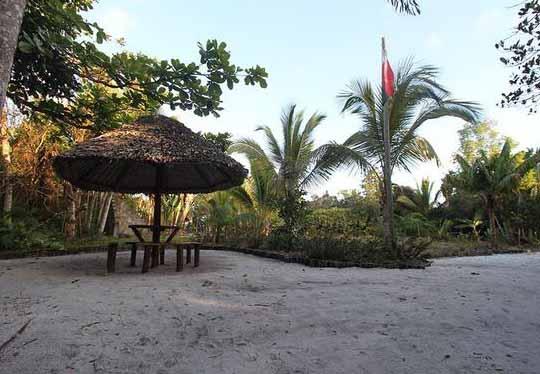 plage du Palmarium à Madagascar
