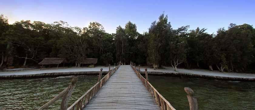 La réserve et l'hôtel Palmarium à Madagascar