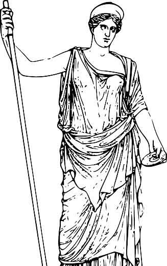 Héra : la déesse des familles et épouse de Zeus
