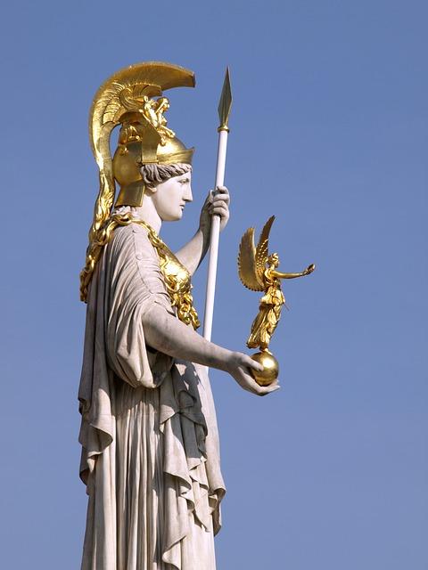 Athéna : la déesse de la guerre