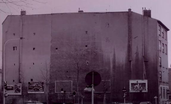 le mur des canuts à Lyon avant la peinture