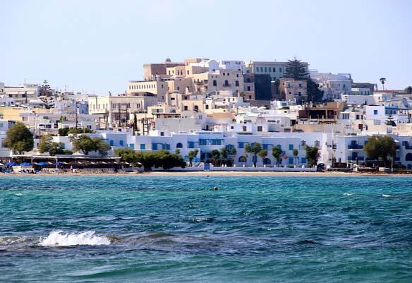 Une vue sur Naxos