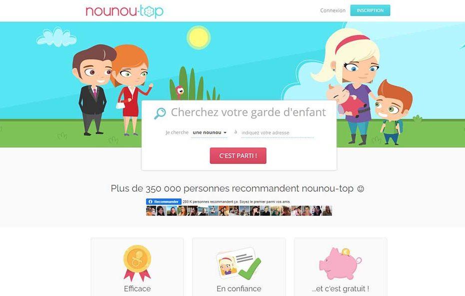 Le site Nounou Top