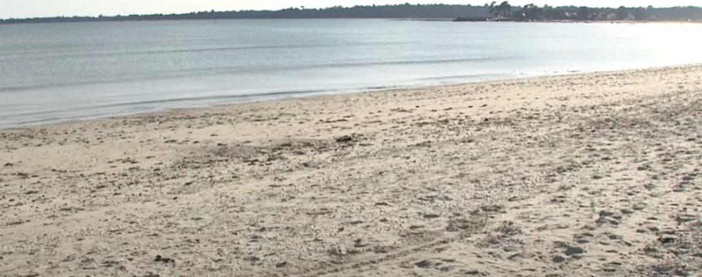 La plage de Kerleven