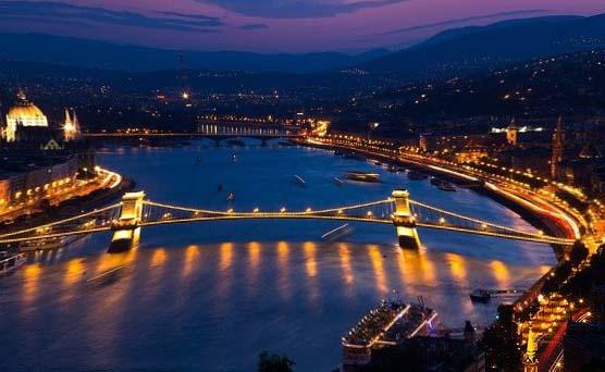 Photo d'une ville en Hongrie